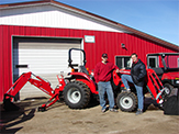Our New Massey Ferguson Equipment is here!